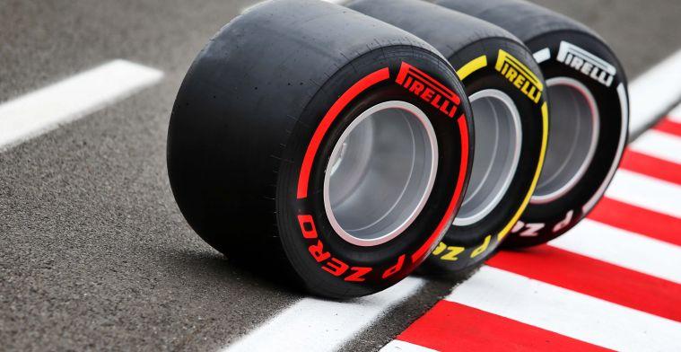 Snelste strategie volgens Pirelli lijkt niet in voordeel Verstappen te spreken