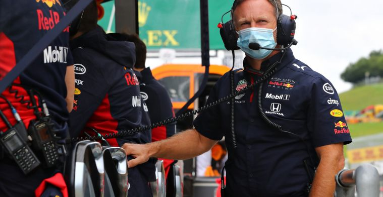 Horner: We saw fifty small cuts in Verstappen's tires