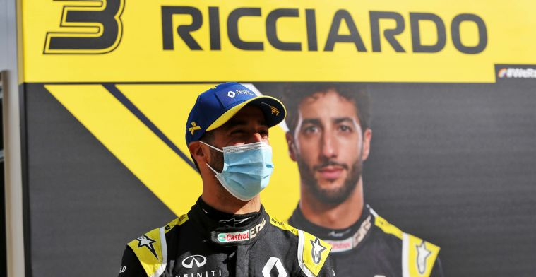 Ricciardo hoped for a podium: Another chance next week