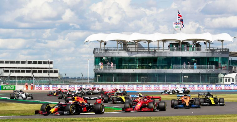 Vier personen gearresteerd tijdens de Grand Prix van Groot-Brittannië