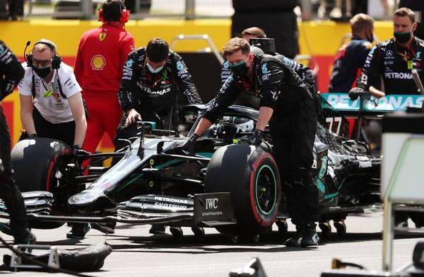 Palmer: Verstappen had eigen ellende met banden, doorgaan was erg riskant