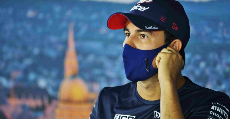 Perez gives update after corona infection: I'm fine!