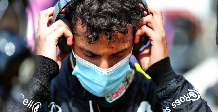 Ricciardo baalt ervan dat Grosjean de 'Verstappen-regel' aan zijn laars lapt