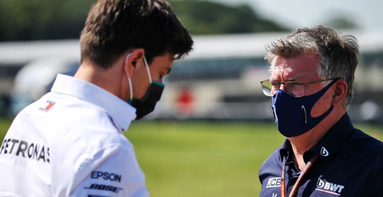 Wolff overlooks new rule: 'Mercedes reserve cannot fill in'