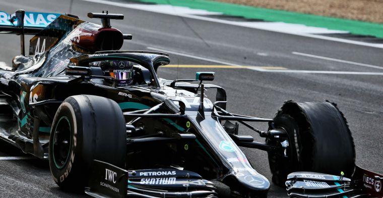 Van de Grint: ''Lekke banden bij Mercedes hebben niks met slijtage te maken''