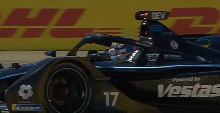 De Vries in top-vijf bij FE-kwalificatie, reservecoureur Red Bull in achterhoede