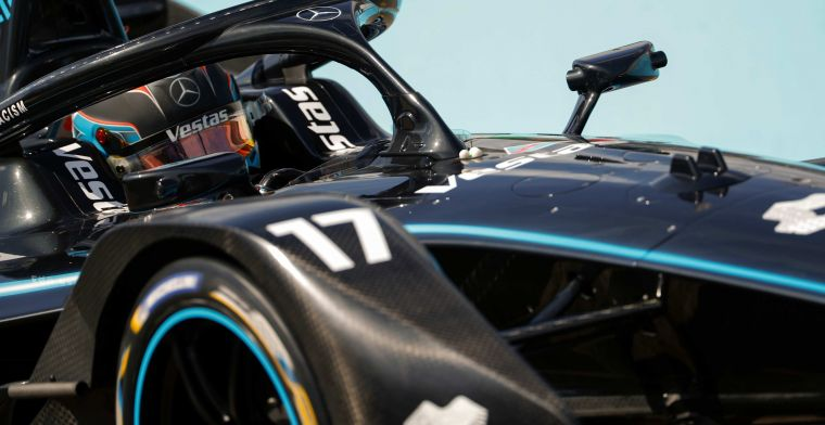De Vries sets fastest time in FP2 during E-Prix Berlin
