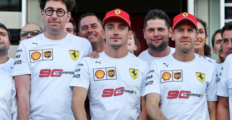 F1 Social Stint | Vettel ignores Mattia Binotto after the Grand Prix