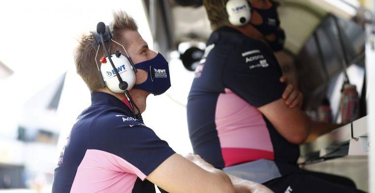 Hulkenberg nog op 'standby' voor de tweede Grand Prix in Silverstone