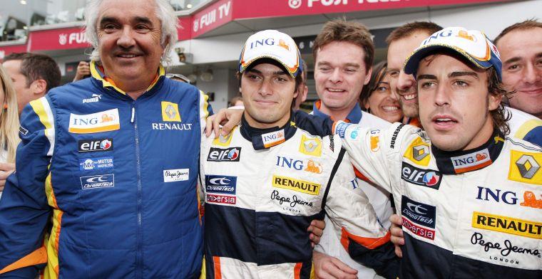 Briatore weet waar het aan schort bij Renault: ''Dat moet gemoderniseerd worden''