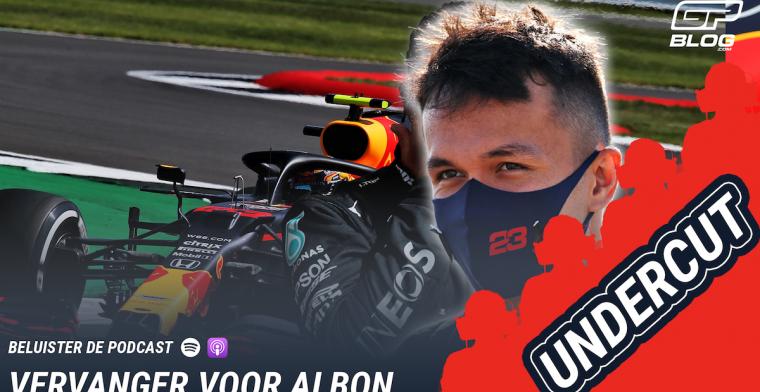 De UNDERCUT: Verhitte discussie over de toekomst van Albon bij Red Bull Racing