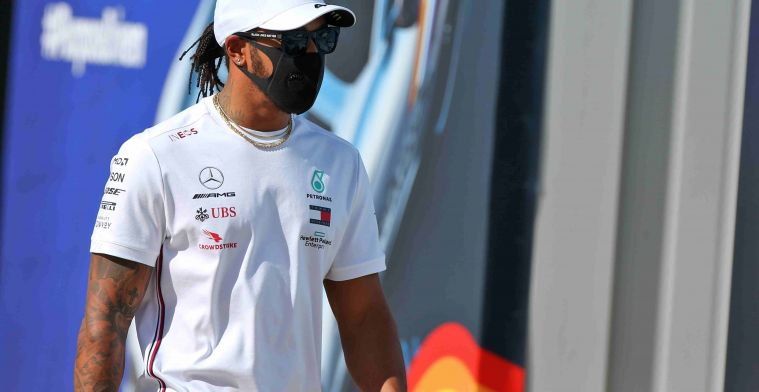 Hamilton satisfied with first day of week two at Silverstone