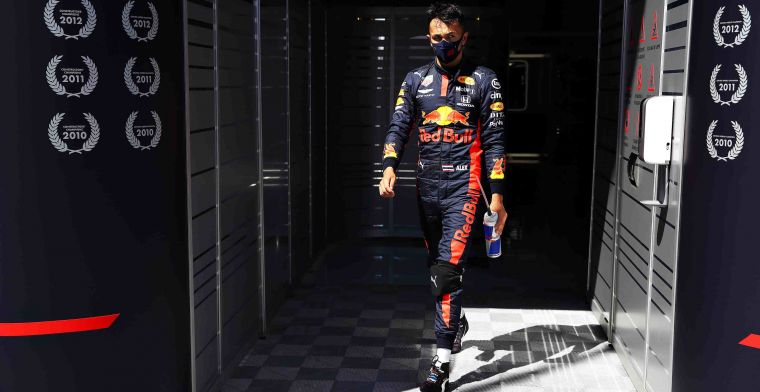 Albon: I'm still struggling with what I want with the car, we're making progress