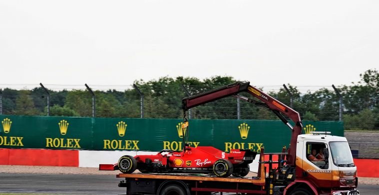 Vettel might need new engine on Saturday after problem in FP2