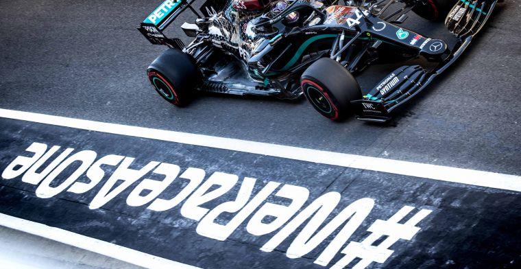 Samenvatting VT2: Mercedes opnieuw snel, Verstappen P4 achter Ricciardo