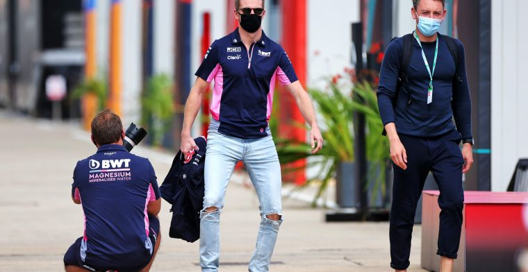 Racing Point blij met terugkeer Hulkenberg: ''Was vorige week erg jammer''