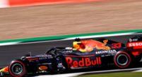 Afbeelding: Verstappen voorkomt net op tijd een crash met Leclerc op Silverstone