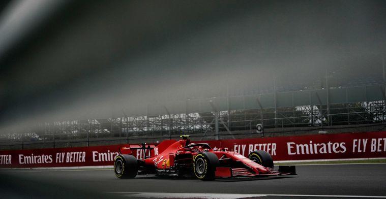 Leclerc over slijtage: Zijn niet in staat om volledige ronde in Q3 af te maken