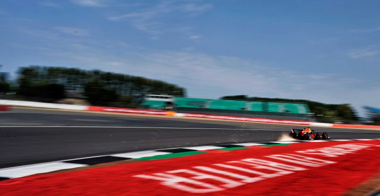 Voorlopige startopstelling tweede GP Silverstone: Verstappen P4, Ocon heeft straf