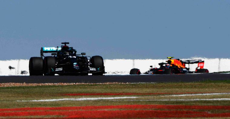 Mercedes on another level compared to Red Bull; difference seven tenths in race