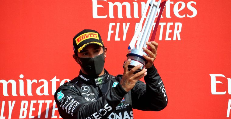 Hamilton knows that Verstappen was too fast today: Couldn't meet his times