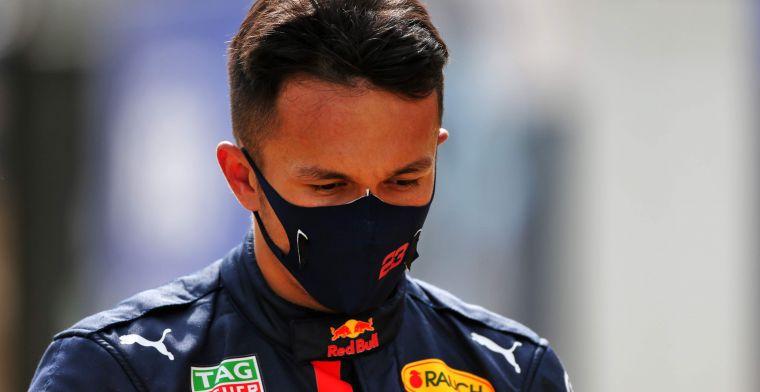 Schumacher: Albon is langzamer omdat de Red Bull ontworpen is voor Verstappen