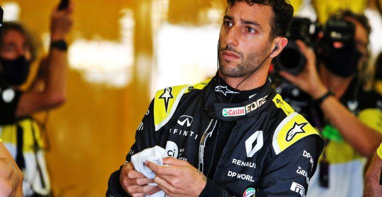 Ricciardo: Het gaat een hele eenzame race worden voor Verstappen