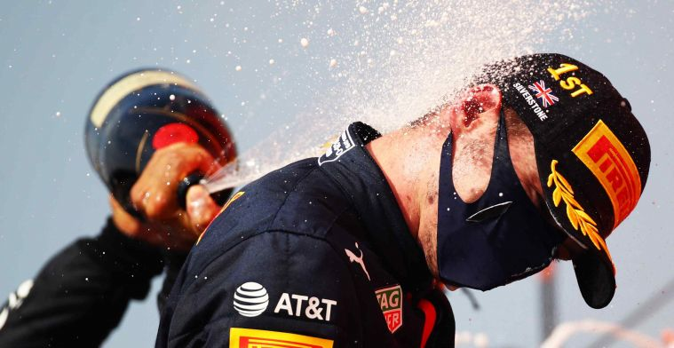 World Championship standings: Max Verstappen 30 points off Lewis Hamilton