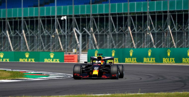 Verstappen convincingly elected Driver of the Day at Silverstone!