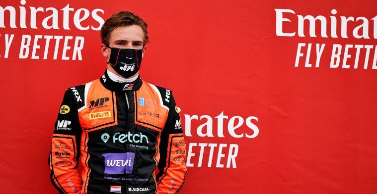 Viscaal pakt op geweldige wijze zijn eerste overwinning in F3