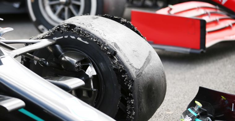 Drivers may not finish the race in the pit lane