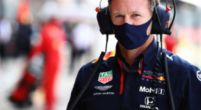 "Image: Horner jokes: ""Verstappen's Grandma must have been pretty quick!"""