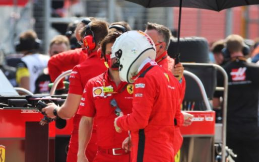 Doubts whether Vettel will finish the season with Ferrari: