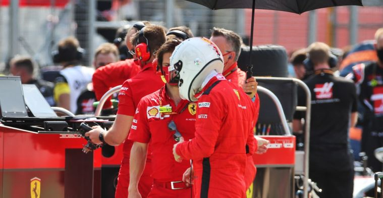 Doubts whether Vettel will finish the season with Ferrari: Don't know if he can