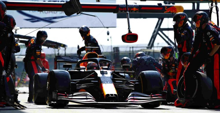 Red Bull scores five in a row; fastest pit stop at Silverstone again