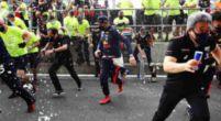 Afbeelding: Zo vierde Verstappen samen met Red Bull zijn overwinning op Silverstone!