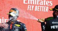"""Afbeelding: Hamilton ziet Red Bull voor het eerst winnen: """"Verstappen deed het fantastisch"""""""