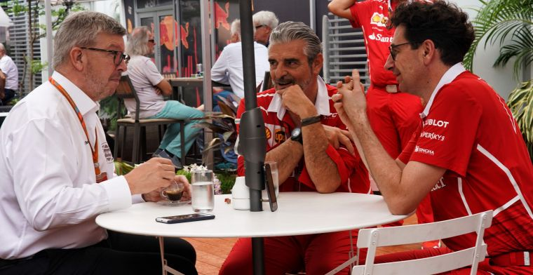 Brawn sees frustrated Vettel: ''Ferrari should sit down with him''