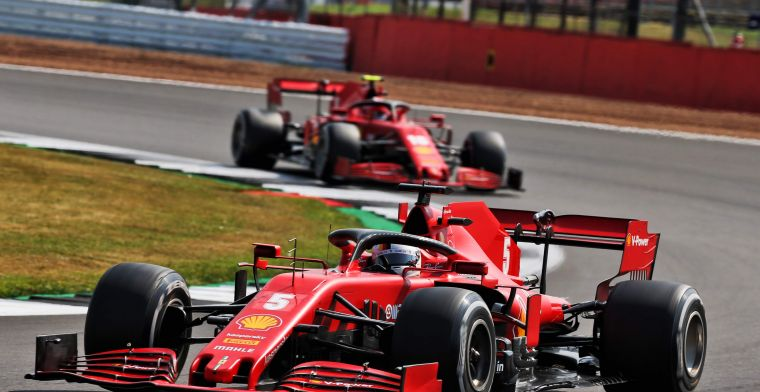 New wings and Pirelli tyres created an advantage for Ferrari at Silverstone