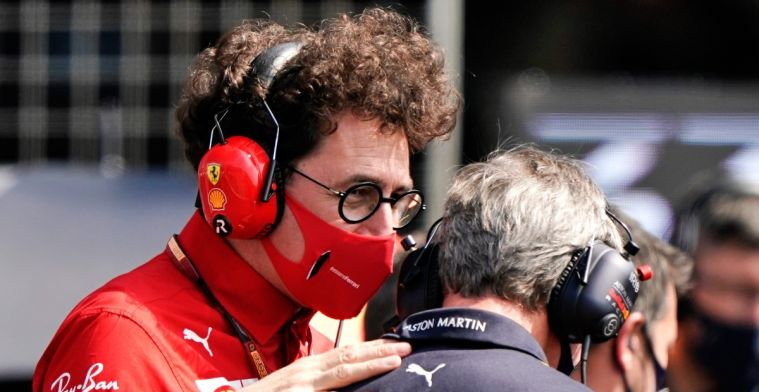 Binotto not impressed by angry Wolff: Everyone looks at own interest