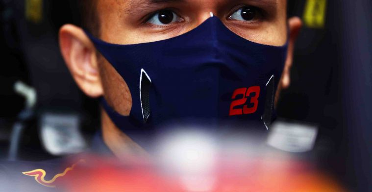 Albon: That gives everyone, including Max and myself, a boost