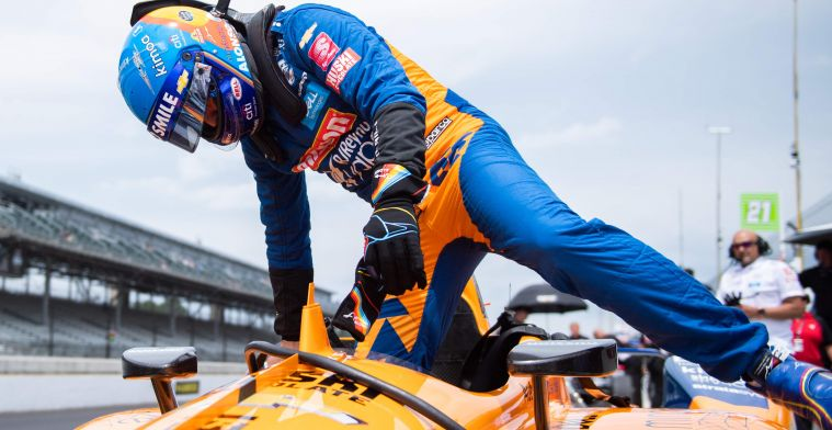 No quick Indy 500 return for Alonso: ''Then I'd miss qualifying''