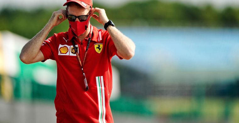 Vettel says 'I've been happier' but insists won't walk away from Ferrari
