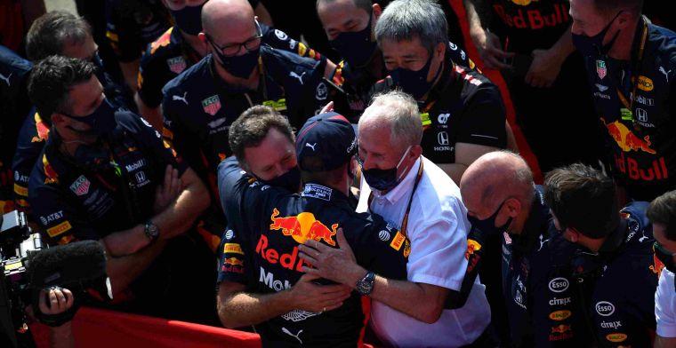 Horner over Verstappen en Hamilton: Daar heb je de één-op-één vergelijking