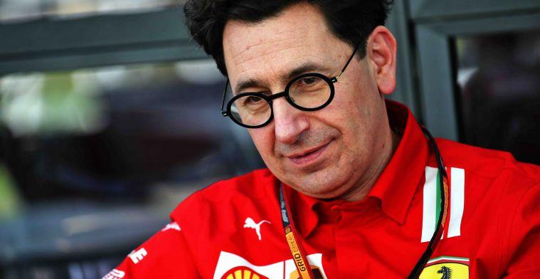 Binotto sees Ferrari development positively: I think we can improve