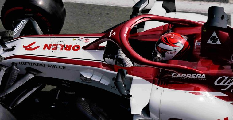 Employees Alfa Romeo must be in isolation in Switzerland after Spanish GP