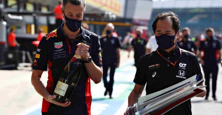 Honda: Overwinning Verstappen heeft iedereen nog meer motivatie gegeven