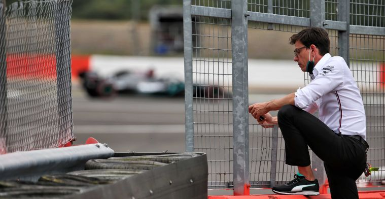 Wolff: We zijn eerlijk verslagen door Red Bull, petje af