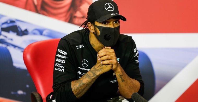 Hamilton haalt uit naar FIA:  Ze gaan het beoogde resultaat toch niet krijgen