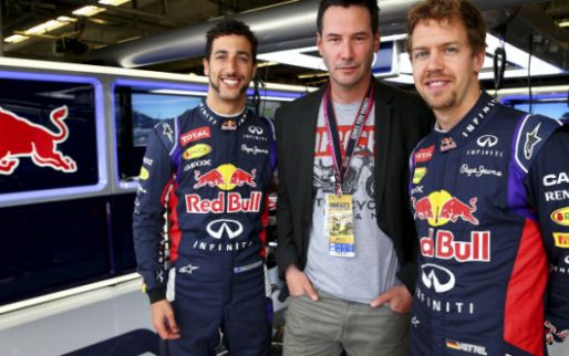 Image: Ricciardo stands up for Vettel: ''He won't run away from trouble''